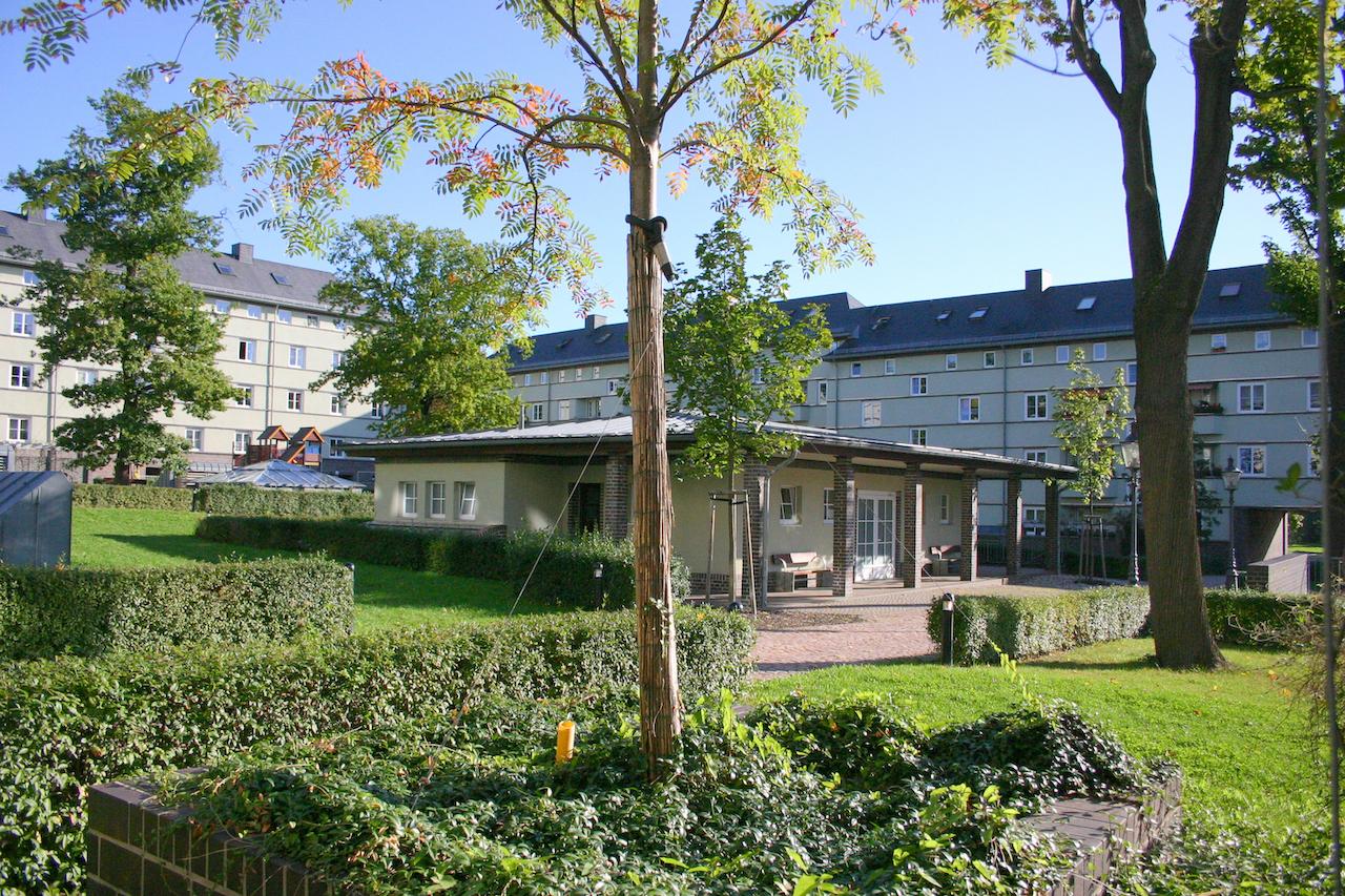 Sanierung einer denkmalgeschützten Wohnanlage in Chemnitz