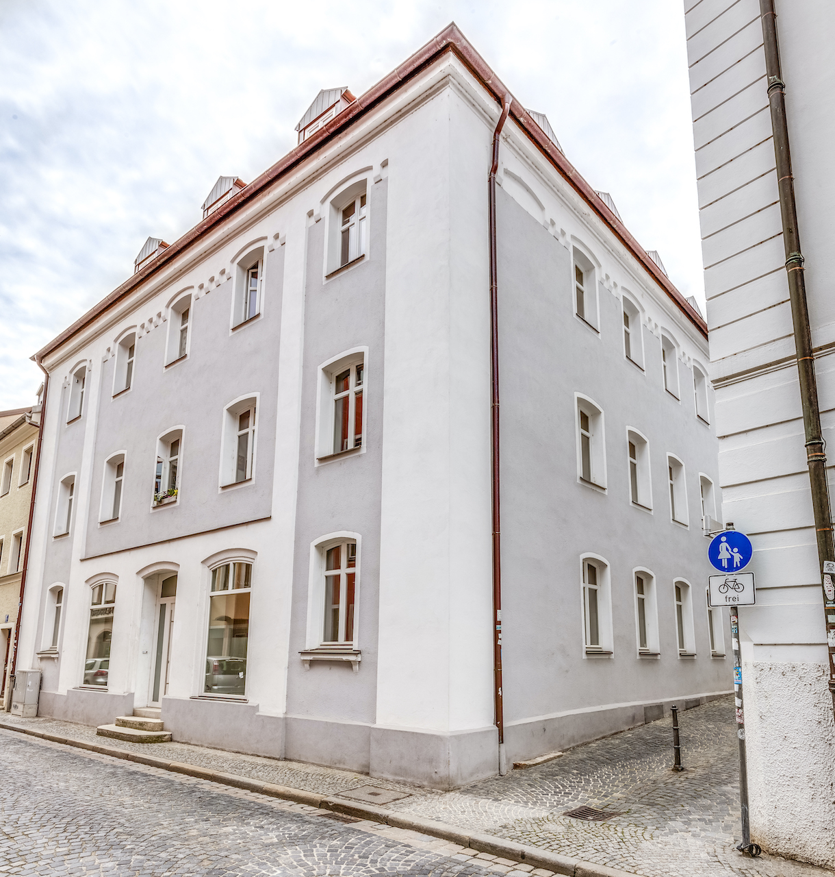 Sanierung Wohn- und Geschäftshaus in Regensburg